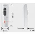 Becker EC545-II Blanc télécommande 5 canaux