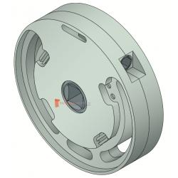 Treuil 1420 Entrée 6p7 Sortie carré 10 mm FDC (1/7)