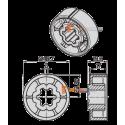 Adaptations moteur Becker diam. 40 ou 50 et tube Hexa ou rond 50