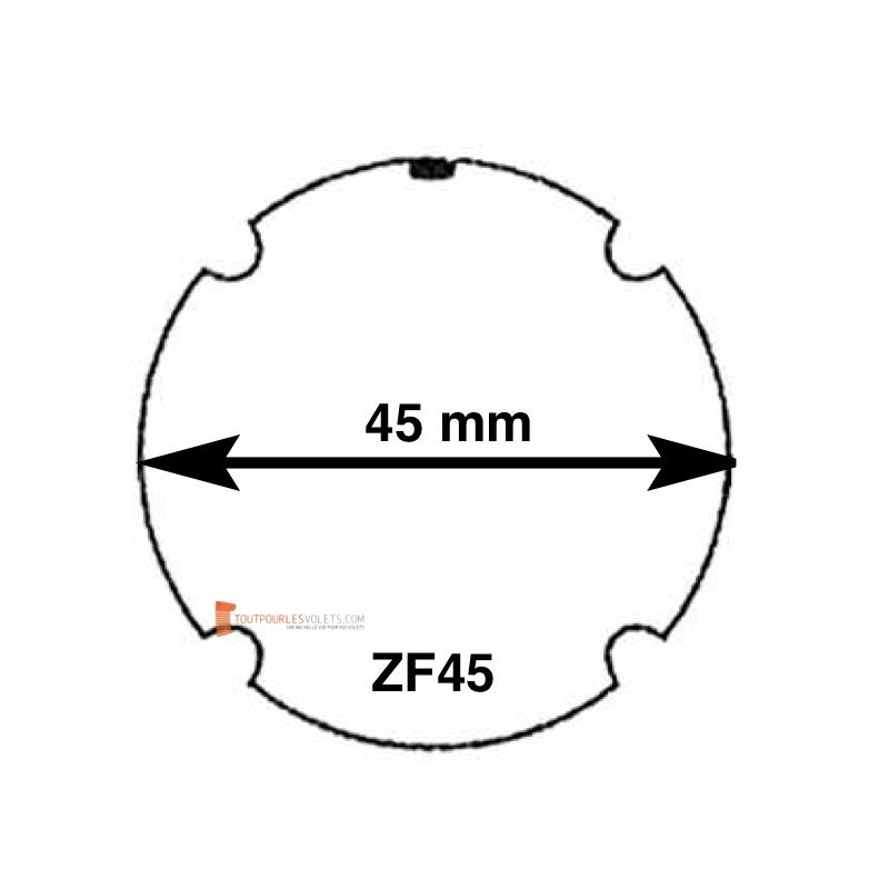 Adaptations pour moteur Becker diam. 40 et tube ZF45