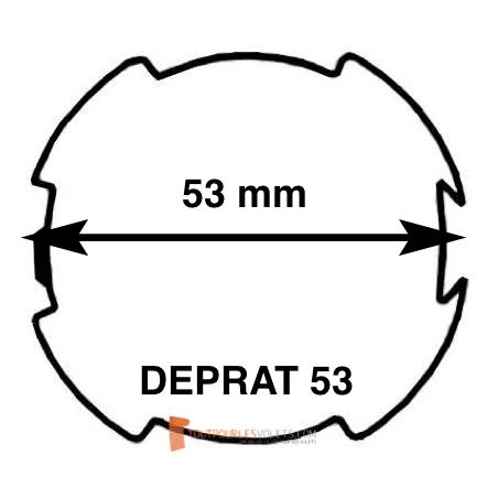 Adaptations moteur Somfy diam. 50 et tube Deprat 53