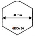 Adaptation moteur Somfy diam. 50 et tube Hexa 50