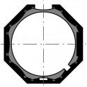 Adaptations moteur Somfy diam. 40 et tube Octo 40