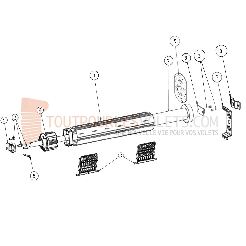 prix moteur volet roulant somfy radio moteur somfy radio oximo 20 17 rts 100 volet roulant