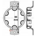 Support moteur Somfy - Bloc Baie