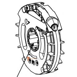 Treuil Technivis débrayable Entrée 6p7 - Sortie Crabot 22 Deprat - FDC