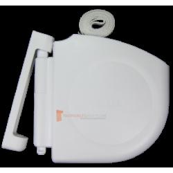 Enrouleur Design Sangle 14 L5500 Blanc