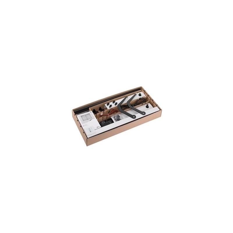 Kit de motorisation de volet battant Somfy Yslo Flex RTS - 2 vantaux - Blanc