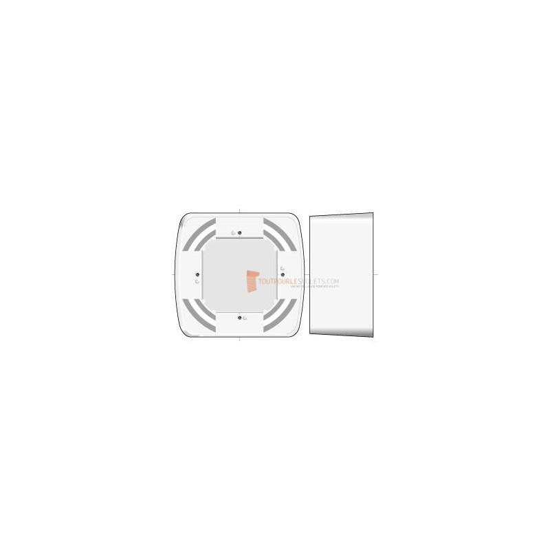boitier de montage en saillie pour gamme somfy inteo blanc toutpourlesvolets com. Black Bedroom Furniture Sets. Home Design Ideas