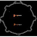 Adaptation moteur Becker diam. 50 et tube Soprofen diam. 55