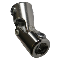 Genouillère acier  6p10 / 6p10 - Nickelé