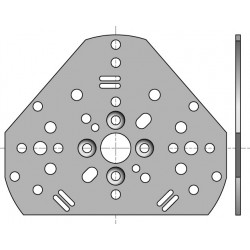 Support universel moteur Somfy - Bloc baie