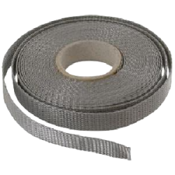 Sangle 12 mm - Gris - Rouleau de 100 m