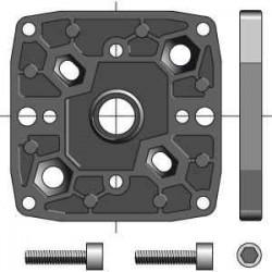 Somfy Support multi-entraxes pour moteur CSI ø 50 et 60