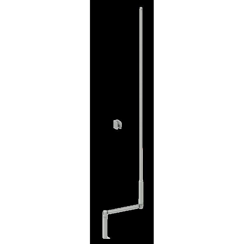 Manivelle volet roulant complète acier diam. 12 Blanc L1700 mm