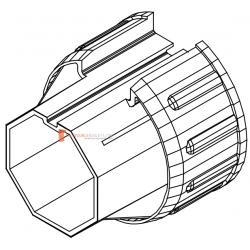 Manchon adaptateur octo 60 / octo 40