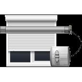 Volet roulant electrique alu ou PVC pas cher et moteur