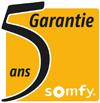 garantie 5 ans des moteurs somfy commercialisés par la boutique TOUTPOURLESVOLETS.COM