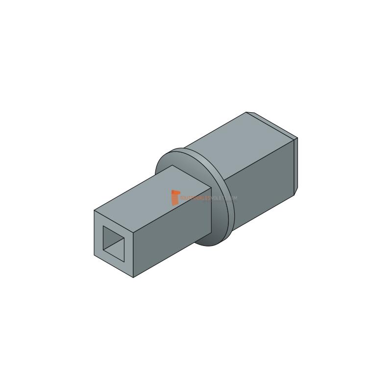 Pivot pour treuil - C16 et diam. 12 / C13 et C7