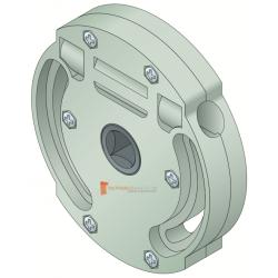 Treuil 1424 Entrée 6 pans de 7 mm Sortie carré 10 mm FDC
