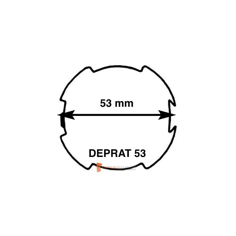 Adaptations moteur Becker diam. 50 et tube Deprat 53