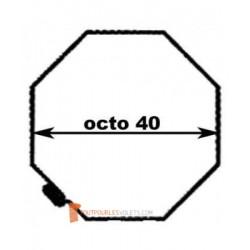 Adaptations pour moteur Becker diam. 40 et tube Octo 40