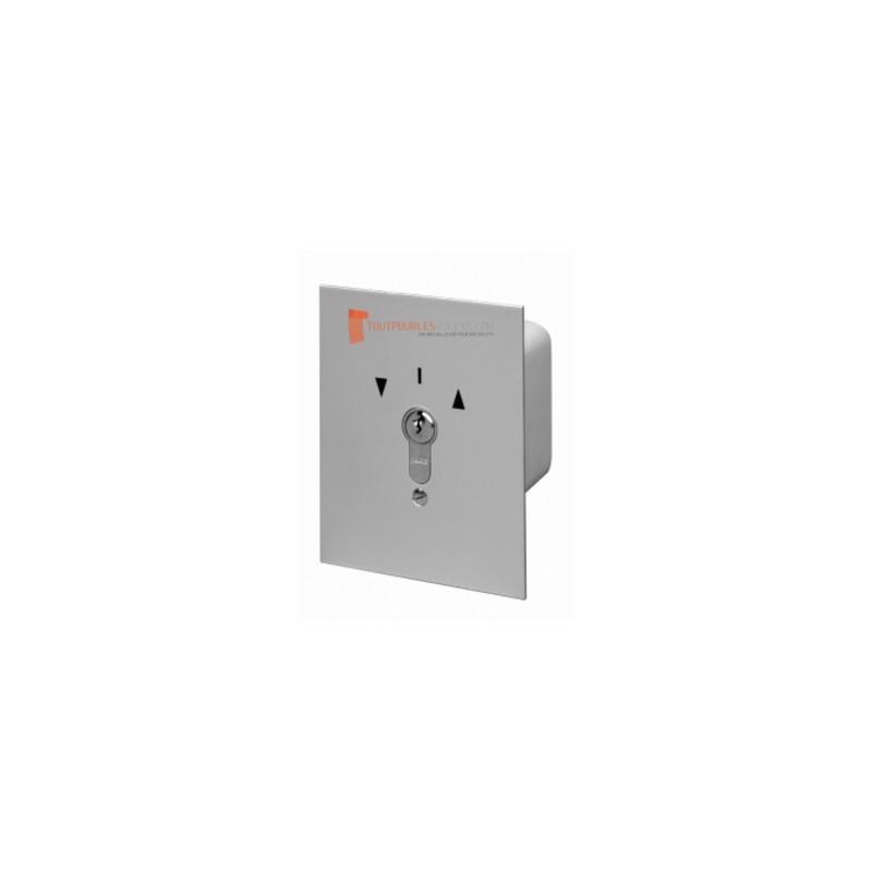 Somfy Inverseur à clé extérieur montage encastré - Position maintenue