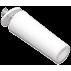 Butée ronde 60 mm Blanc
