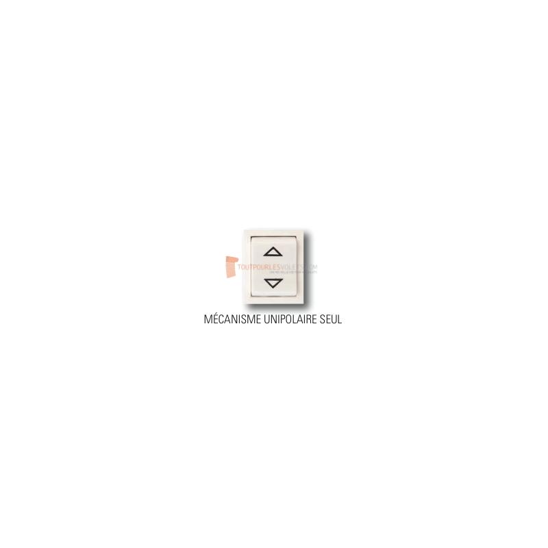 Inverseur filaire APEM, mécanisme unipolaire seul, position fixe