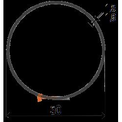 Adaptation moteur Somfy diam. 50 et tube Rond 50 (clippage dur)