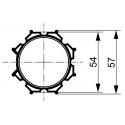 Adaptations moteur TPV.com diam. 50 et tube Octo 60