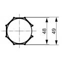 Adaptations moteur TPV.com diam. 50 et tube Octo 50