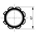 Adaptations moteur TPV.com diam. 50 et tube Octo 70