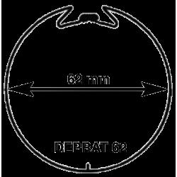 Adaptations moteur TPV.com diam. 50 et tube rond rainuré Deprat 62