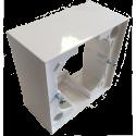 Boitier de montage en saillie pour interrupteur encastré Mini-Skin 3 positions, Fixe