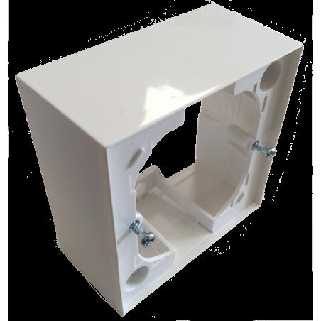 boitier de montage en saillie pour interrupteur encastr. Black Bedroom Furniture Sets. Home Design Ideas