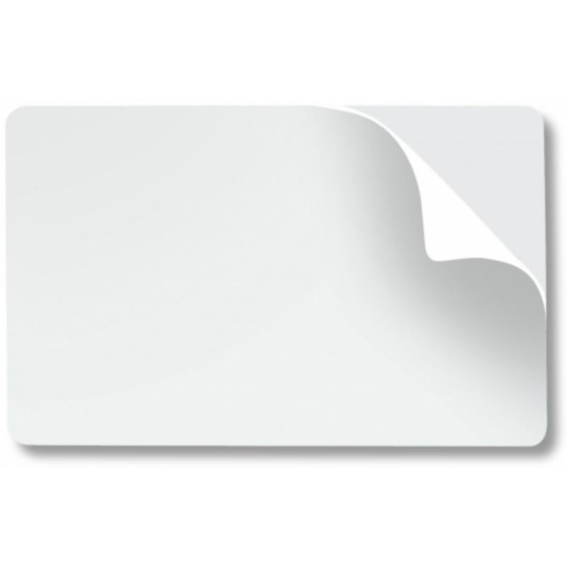 Plaque PVC adhésive - Blanc
