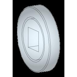 Roulement à billes diam. 32 - carré 10 mm