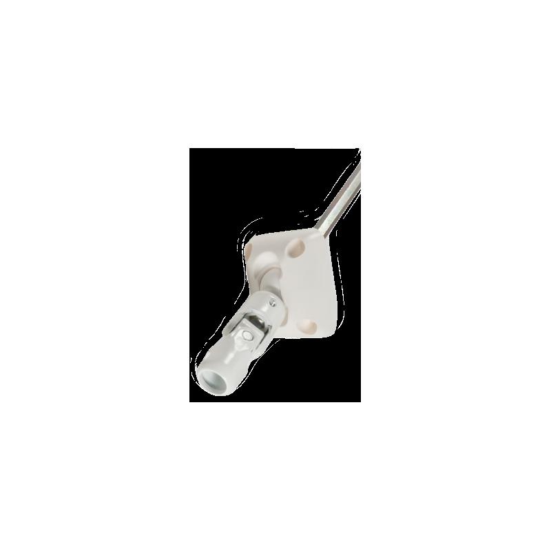 Sortie 45° diam. 12 - Tige 6p10 L315 - Blanc