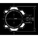 Adaptations moteur TPV.com diam. 50 et tube rond à goutte diam. 70