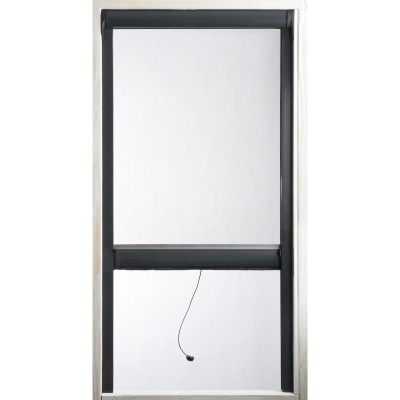 Vertigo - Kit moustiquaire enroulable à recouper - 1400 x 1800 mm - Blanc