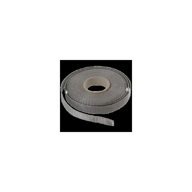 Sangle 12 mm - Gris - Rouleau de 100 m