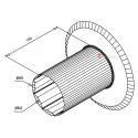Flasque de guidage pour tube octo 60 ou Deprat 62 diam. 164 mm
