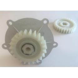 Treuil Soprofen VRX 1ere génération, Entrée Carré 6, Sortie roue crantée, SFC