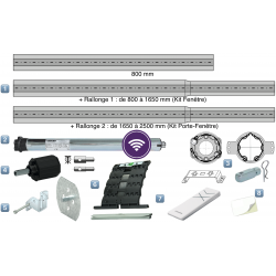 Kit Motorisation Radio Air Geiger pour Porte Fenêtre - Télécommande