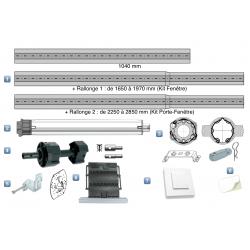 Kit Motorisation Filaire Geiger pour Porte-Fenêtre