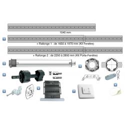 Kit Motorisation Mixte Geiger pour Porte-Fenêtre