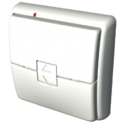 Boitier émetteur mural carré vide - Carré blanc