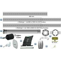 Kit Motorisation Filaire Somfy pour Porte Fenêtre - Inverseur en saillie