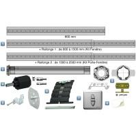 Kit Motorisation Filaire Somfy pour Porte Fenêtre - Inverseur encastré